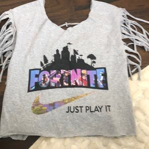 Fortnite home made tee size M/L